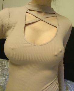 mit meinen Brüsten brauche ich keinen BH