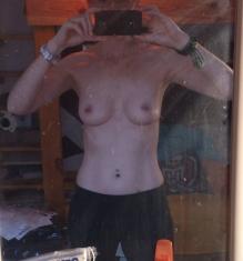 3,5 Jahre vor der Brustvergrößerung - A/B Körbchen